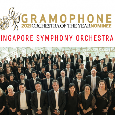 SSO Clinches Third Place in Gramophone's 2021 Orchestra of the Year Award