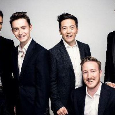 THE KING'S SINGERS CELEBRATES 50 GOLDEN YEARS OF SINGING