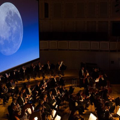 [BANDWAGON] THE SINGAPORE SYMPHONY ORCHESTRA TRANSPORTS MAN THROUGH 50 YEARS OF HISTORY SINCE THE FIRST MOON LANDING