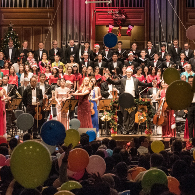 DECK THE HALLS: SSO CHRISTMAS CONCERT AT THE ESPLANADE