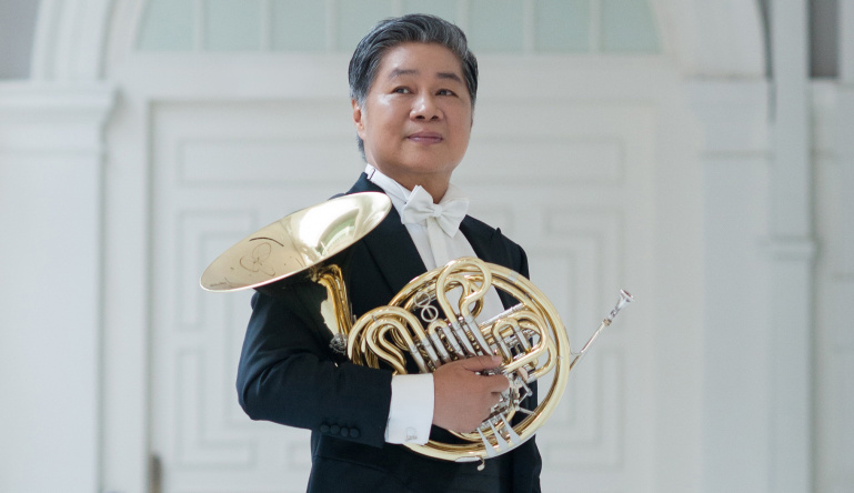 Sweet swansong from Mr Han, SSO Principal Horn