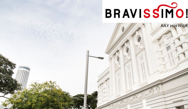 Bravissimo! July 2021