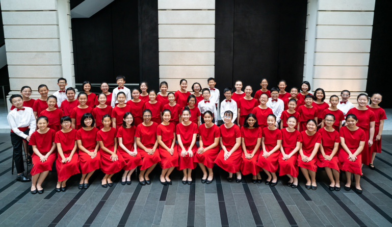 SINGAPORE SYMPHONY CHILDREN'S CHOIR